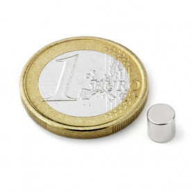 5 stuks 5 mm Round x 5 mm Neodym Magneten