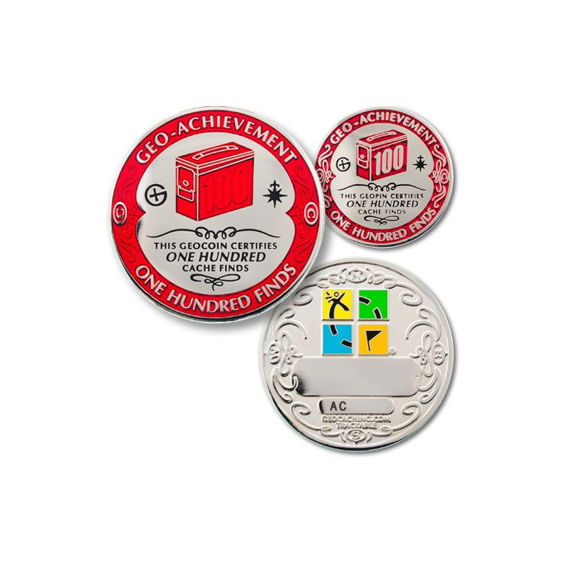 Finds - 100 Finds Geo-Achievement ® set