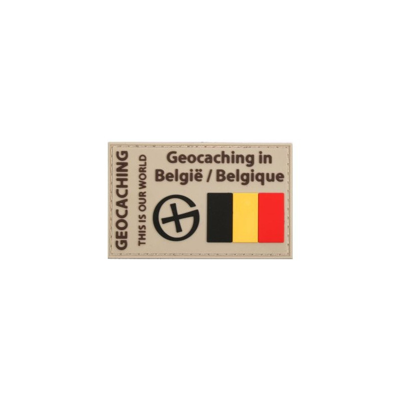 Patch Geocaching in België/Belgique