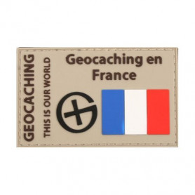 Patch Geocaching en France