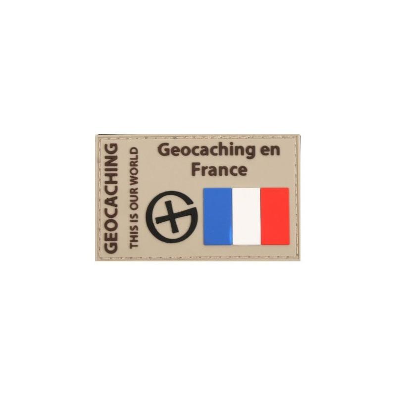 Badge Geocaching en France