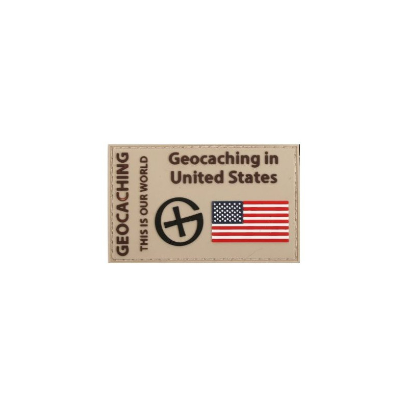 Badge Geocaching in United States