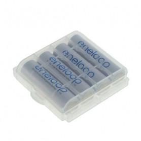 Eneloop AA 2000mAh 4 st + Battery box