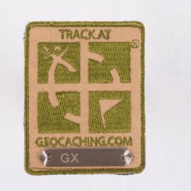 Trackable Aufnäher Khaki