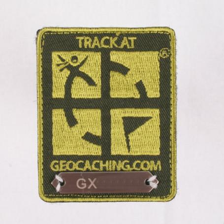 Trackable Aufnäher Grün