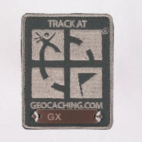 Trackable Patch Donker Grijs