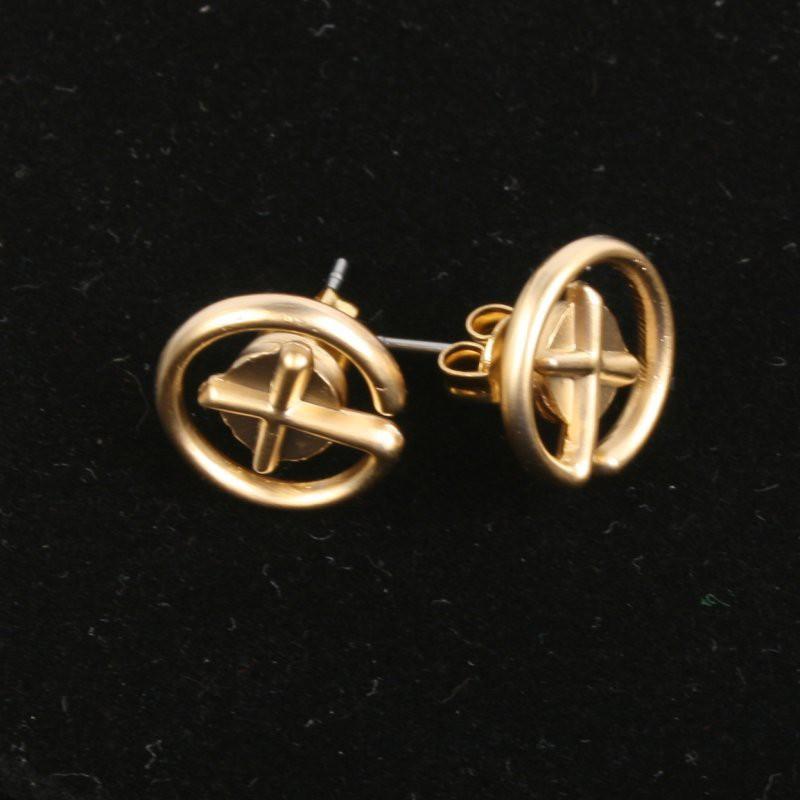 Geocaching earrings
