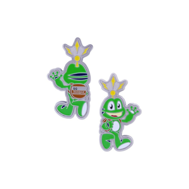 Signal the Frog Geocoin