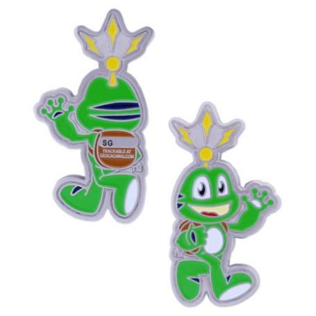 Signal the Frog Geocoin