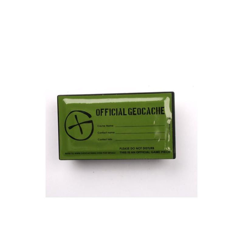 Magnetic rectangular Geocache Container - 8 x 4,5