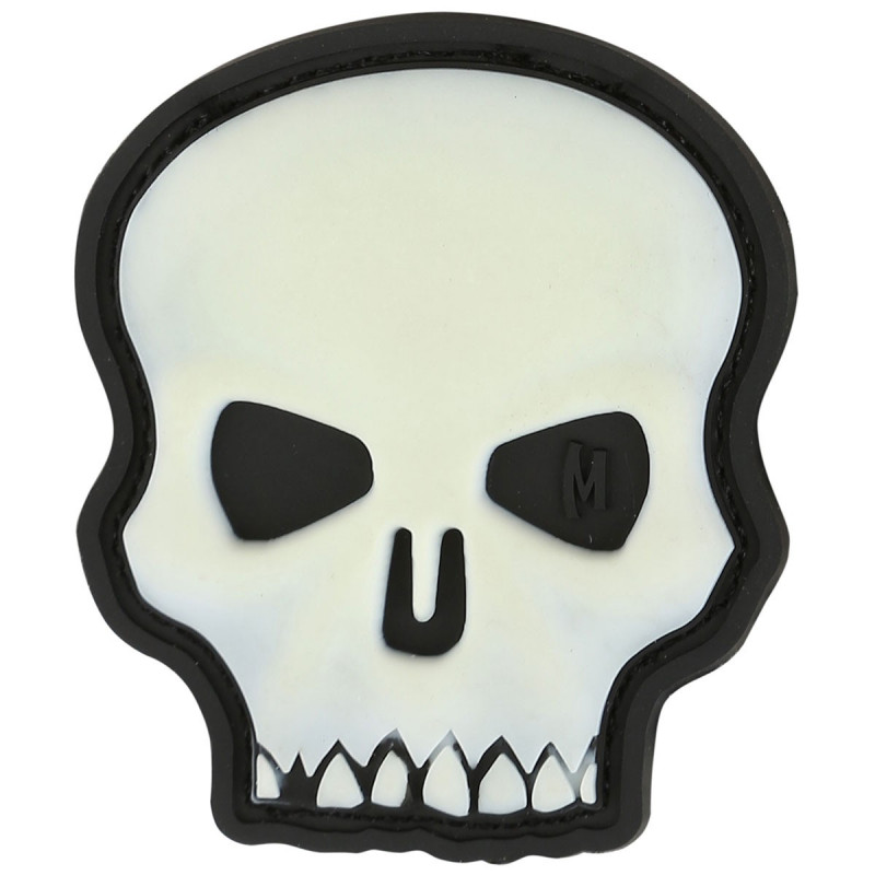 Maxpedition - Hi Relief Skull badge - Glow