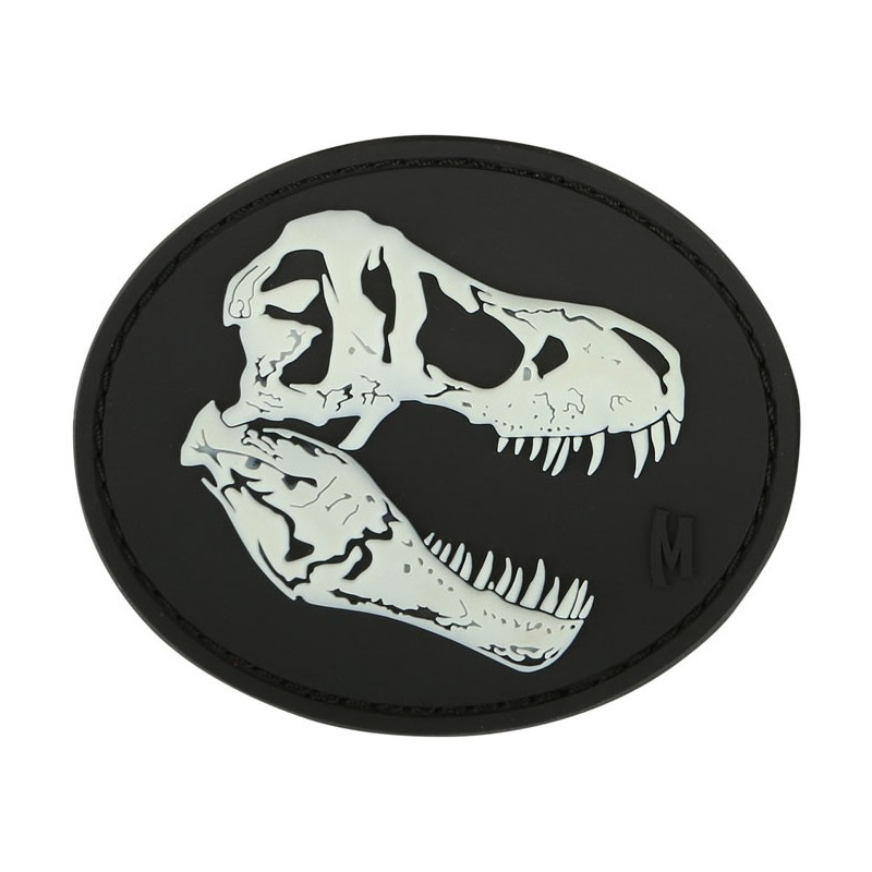 Maxpedition - T-Rex Skull patch - Glow