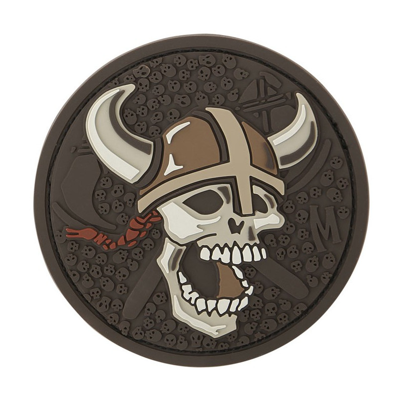 Maxpedition - Viking Skull Badge - Arid