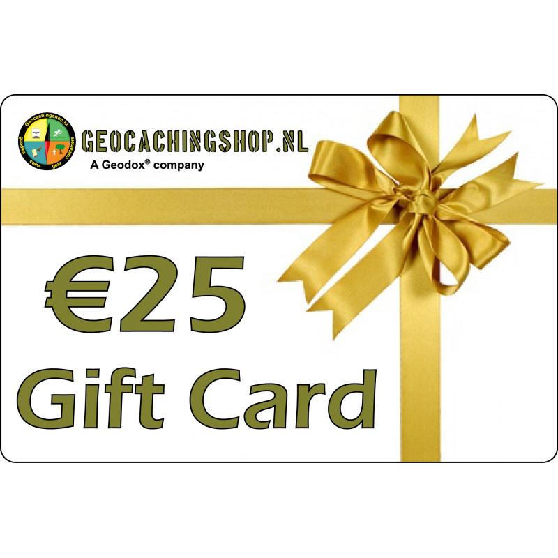 Credit voucher €25