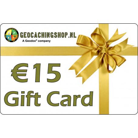 Gutschein €15