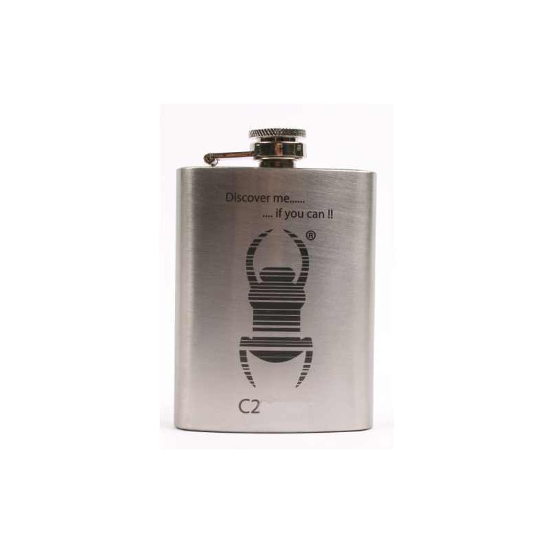 Hip flask Travelbug