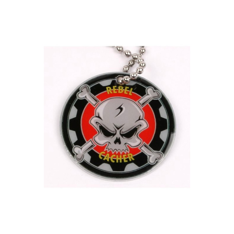 Rebel Cacher trackable