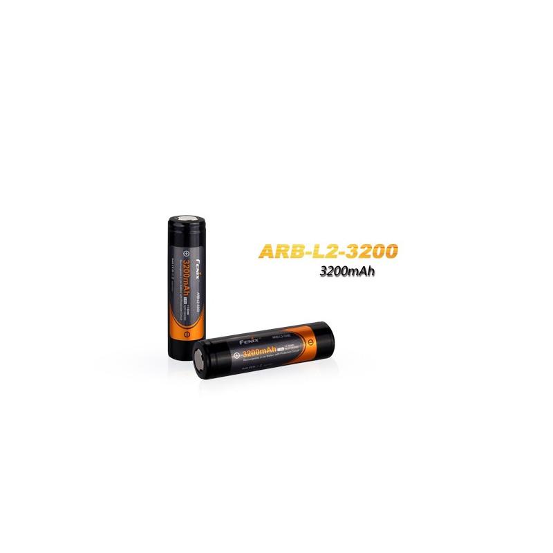 Fenix 18650 accu - 3200mAh