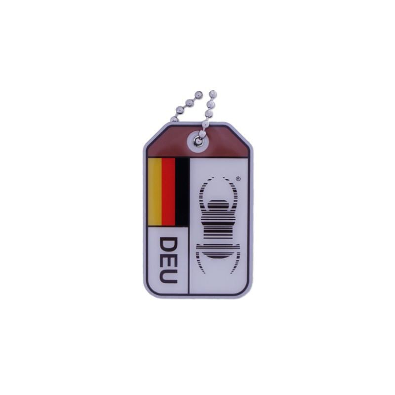 Travel Bug origins - Germany - V2