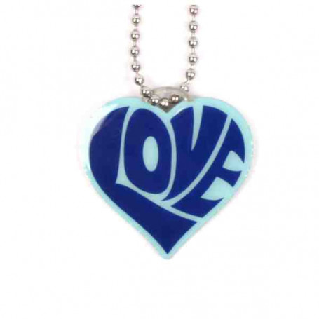 Love Tag - Blau
