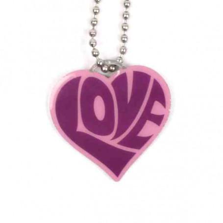 Love Tag - Violett