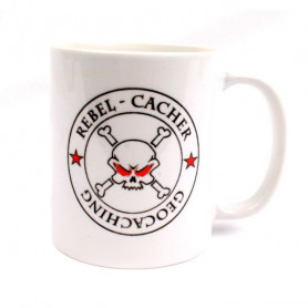 Coffee + tea Mug: Rebel Cacher