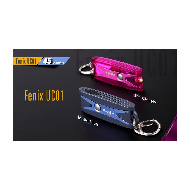 Fenix UC01 45 Lumens Wiederaufladbar