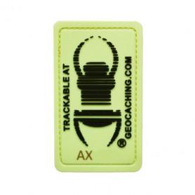 Travel bug Glow In The Dark Badge
