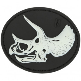 Maxpedition - Triceratops Patch Skull - Glow
