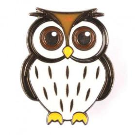 Owl Pin - Snow Owl