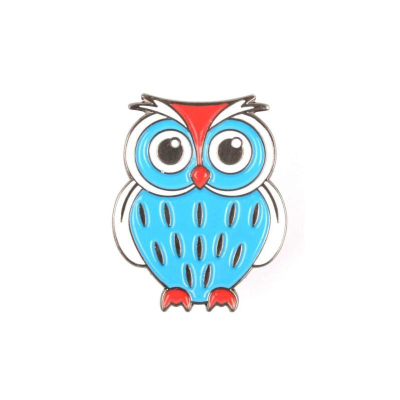 Owl Pin - Papa Smurf