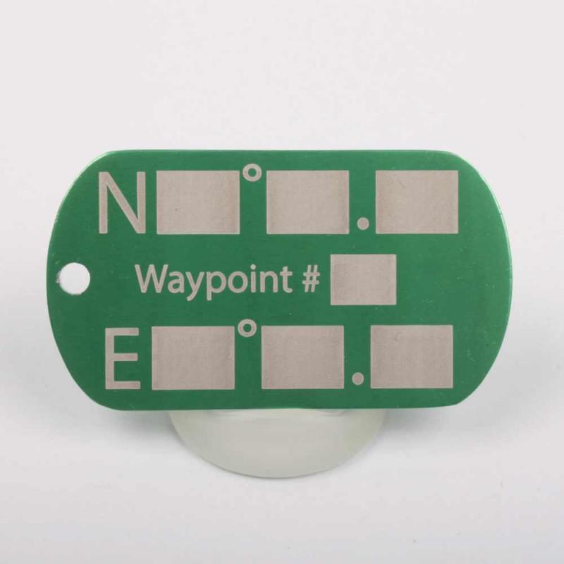 Waypoint marker - green