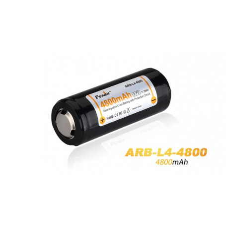Fenix ARB-L4-4800 26650 Li-ion-accu
