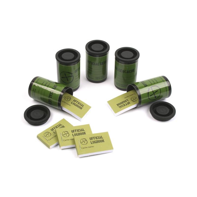 Filmkokertje containerset van 5 - zwart