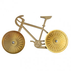 Bicycle Geocoin - Two Tone