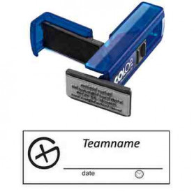 Log stamp - Geocaching Logo -14 x 38 mm