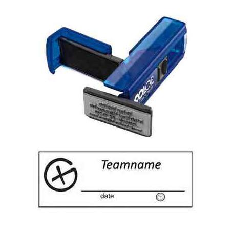 Log stamp - Geocaching Logo -14 x 38 mm