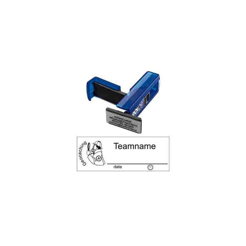 Log stamp - Sherlock - 14 x 38 mm