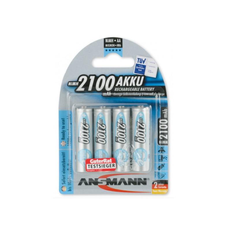 Ansmann AA 2100mAh 4 stuks in blister