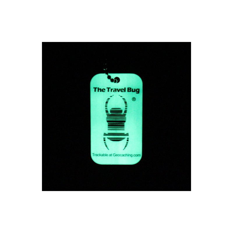 QR Travel Bug® - Glow in the dark