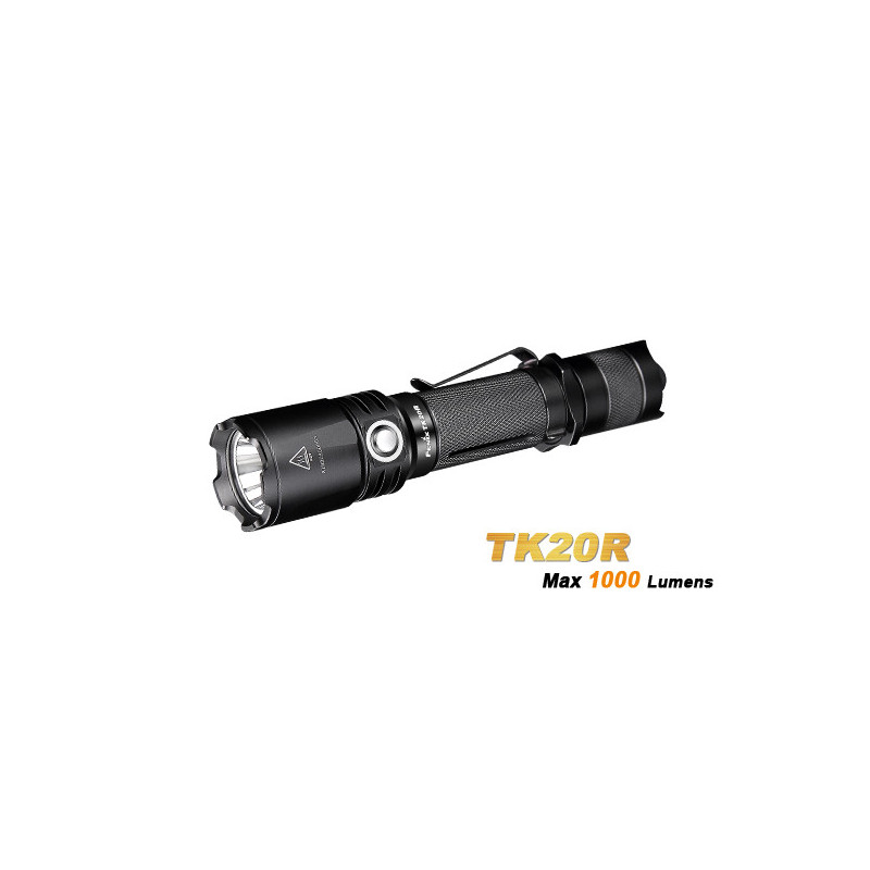 TK20R rechargeable flashlight  - 1000 lumens