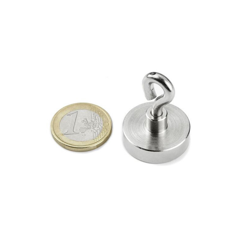 1pcs 20 mm Neodym Magnet with hook