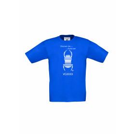 Kinder Travel Shirt - leverbaar in 10 verschillende kleuren