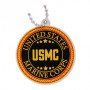 Military Travel Tag - Marines