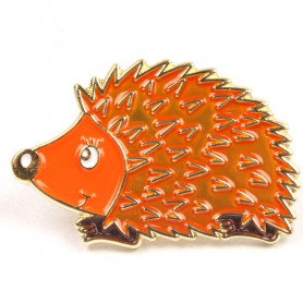 Hedgehog Pin - Flemish Coast