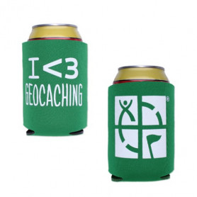 Geocaching Coozy - Green