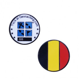 Country micro geocoin Belgie