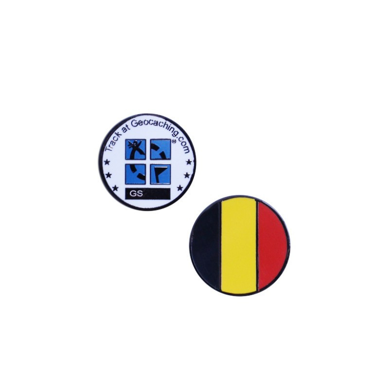 Country micro geocoin Belgique