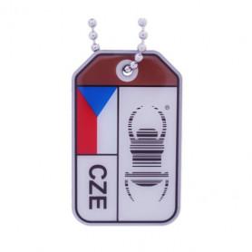 Travel Bug origins - Czech Republic - V2
