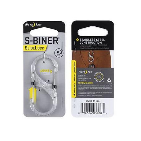 SlideLock S-Biner maat 3